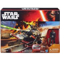 Star Wars The Force Awakens Class II Vehicle: Desert Lander Speeder - With Finn [Jakku] Figure